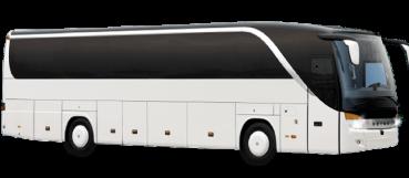 56 passenger coach bus Las Vegas