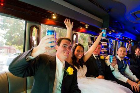 Anniversary Party Bus Las Vegas